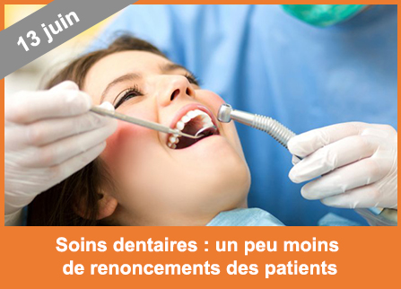Soins dentaires renoncements